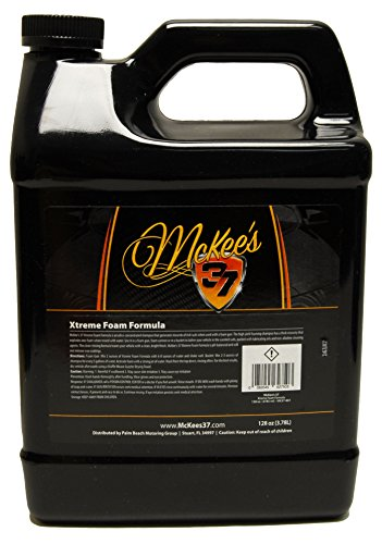 - McKee's 37 MK37-801 Xtreme Foam Formula Auto Shampoo 128 Fluid_Ounces