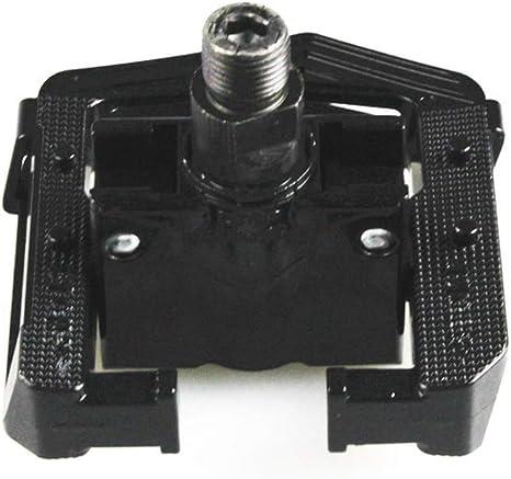 Altruism Pedales Plegables para Bicicleta de monta/ña MTB con 2 rodamientos DU plegados de Aluminio con Reflector y Piezas Antideslizantes para Bicicleta