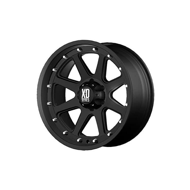 XD Series by KMC Wheels XD798 Addict Matte Black Wheel (17×9″/5×139.7mm, -12mm offset)