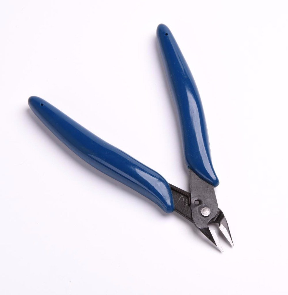 10pcs/lot 5'' 125cm PLATO 170 Blue Flush Cutter Diagonal Cutting Pliers Side Cutter Nippers Wire Cutter by YEGOOD