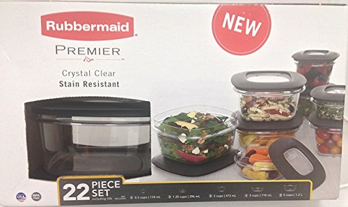 Rubbermaid Premier 22 piece Storage Container product image