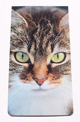 magnetische Lesezeichen Katze 9 x 4, 5 cm Dresz