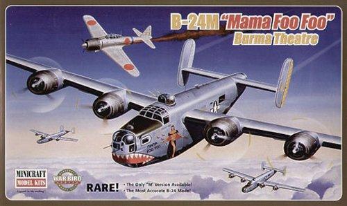 プラッツ 1/72 B-24M Mama Foo Foo プラモデル MC11640