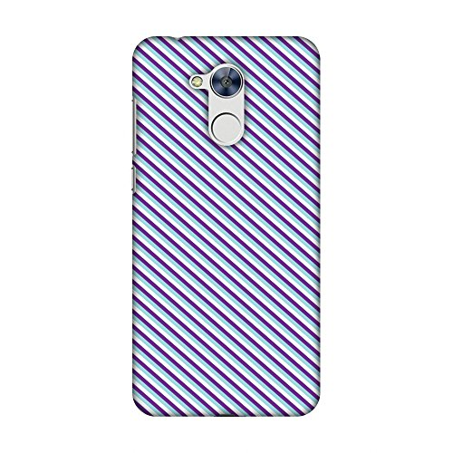 Checkered Holly - AMZER Slim Fit Handcrafted Designer Printed Hard Shell Case Back Cover Skin for Huawei Honor Holly 4, Huawei Honor 6A - Checkered In Purple HD Color, Ultra Light Back Case