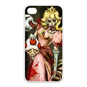 Cyber Monday Store Customize Cartoon Zombie Princess Back Case for iphone4 4S JN4S-1668