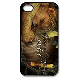 EVA Mortal Instruments iPhone 4,4S Case,Snap-On Protector Hard Cover for iPhone 4,4S