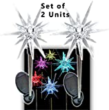 Sparkling Solar Star Lights Garden Stake (Set of 2)