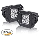 00 silverado 2500 grill - Lower Auxiliary Driving Fog Lights Bumper Grill Offroad Work Lights Spot 3X3 4.5In Flush Mount Pods Cube Reverse Backup Headlight Trucks Trailer Jeep Xj Tacoma Chevy Colorado Tundra Pontoon 12V 24V