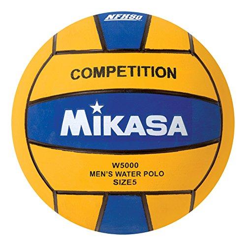 Mikasa W5000BLU Competition Game Ball, Blue/Yellow, Size 5 Mikasa Sports USA