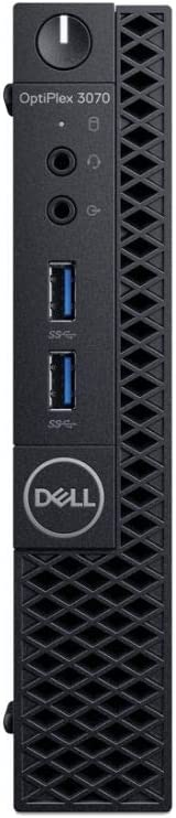 Dell OptiPlex 3070 Desktop Computer - Intel Core i5-9500T - 8GB RAM - 256GB SSD - Micro PC (Renewed)