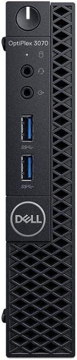 Dell OptiPlex 3070 Desktop Computer - Intel Core i5-9500T - 8GB RAM - 256GB SSD - Micro PC (Renewed)