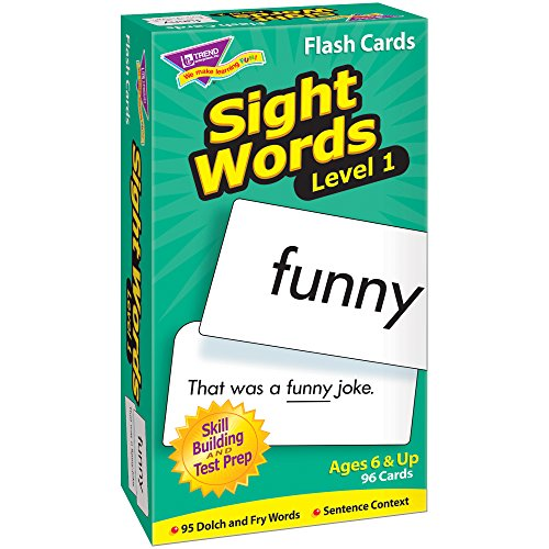 Sight Words–Level 1: Skill Drill Flash Cards - Pre Primer Dolch Sight Words