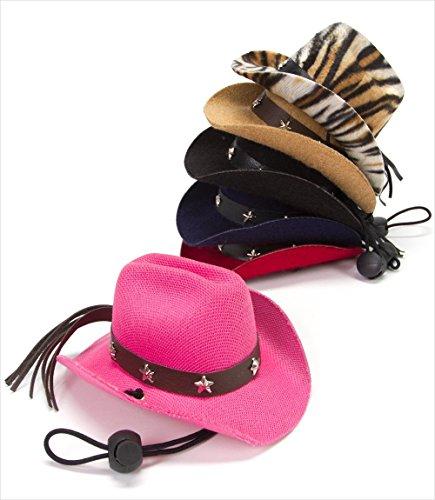Dog Cowboy Hat - Brown