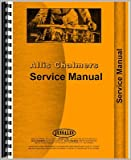 New Tractor Service Manual For Allis Chalmers Tractor G