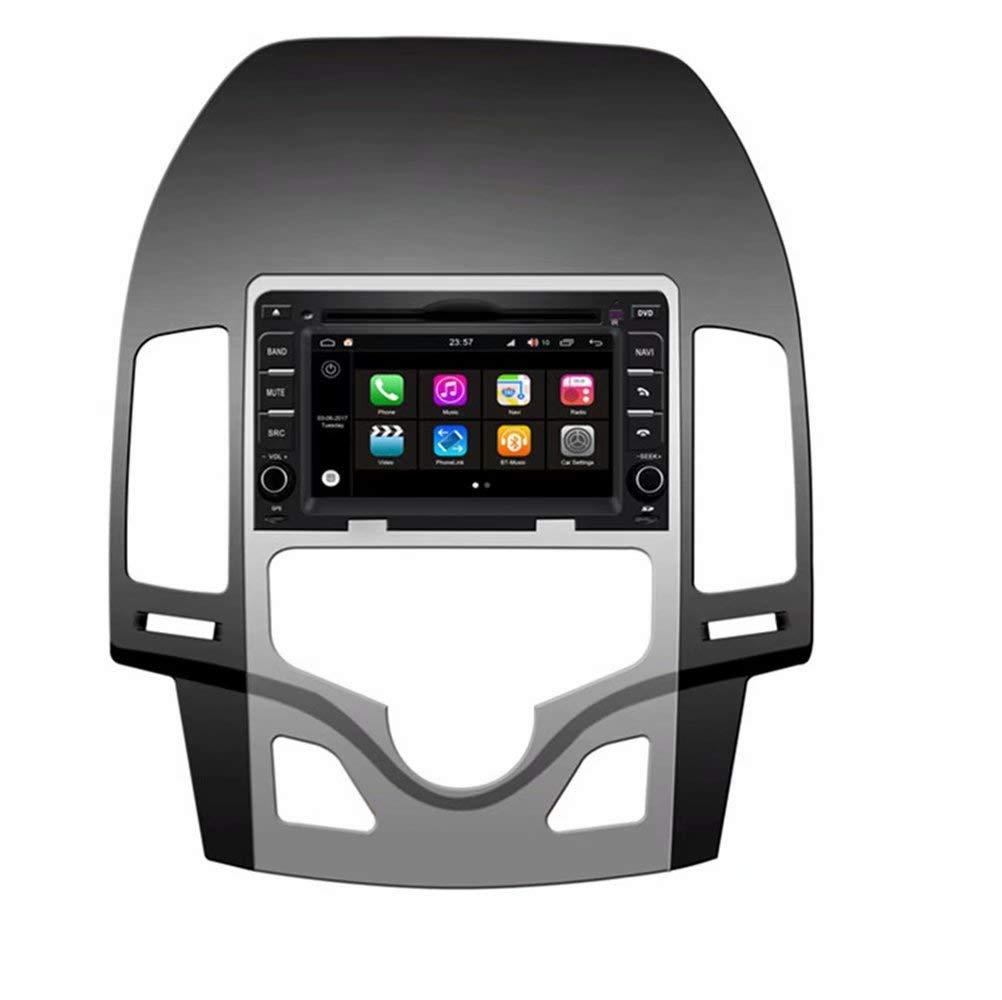 ROADYAKO 6.2Inch Car Multimedia for Hyundai I30 Auto AC 2007 2008 2009 2010 2011 2012 Android 8.0 Auto GPS Navigation Car Stereo Radio 32GB ROM 2GB RAM WIFI 3G RDS Mirror Link FM AM BT