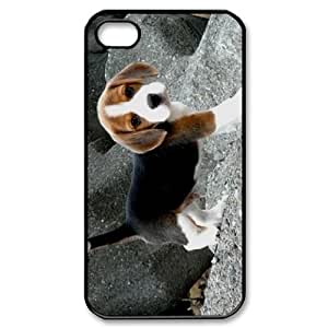AKERCY Beagle Phone Case For Iphone 4/4s [Pattern-3]