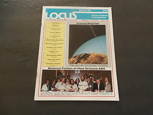 Locus Science Fiction Magazine August, 1986