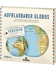 Moses 82326 Opblaasbare wereldbol   wereldkaart