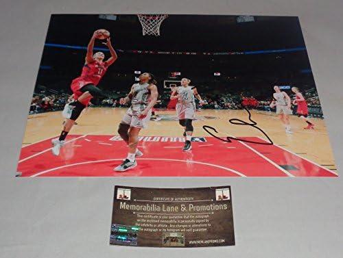 3b11ca8a5462d Elena Delle Donne Autographed 8x10 MYSTICS COA Memorabilia Lane ...