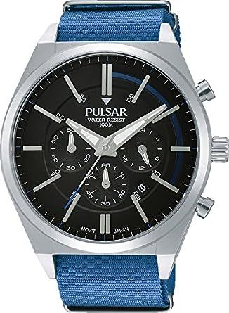 Analogique Pulsar Homme Pt3703x1 Aiguilles Quartz Montre yvNOP8wmn0