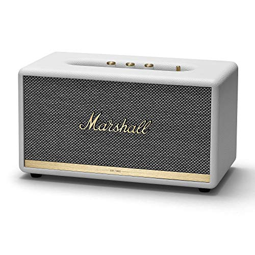 Marshall Stanmore II Altavoz Bluetooth – Blanco (UK)