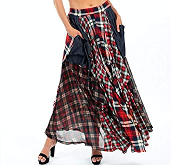 e2278333e3 Tov The Damsel`s Maxi Skirt at Amazon Women's Clothing store: