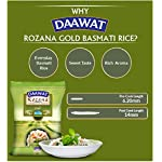 Daawat Rozana Gold, Naturally Aged, Rich Aroma,Perfect Fit for Everday Consumption Basmati Rice, 1 Kg