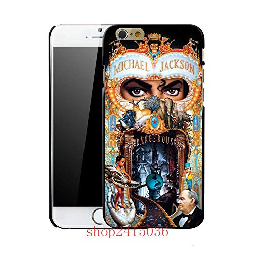 1 piece Coque Michael Jackson MJ Dangerous Phone Hard Cases for iPhone 7 6S 6 5S SE 5C 5 4S 4 7 Plus 8 8plus x
