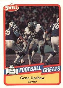 1989 Swell Greats Football Card #147 Gene Upshaw Mint