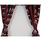 NCAA Printed Curtain Panel Pair Size: 42″ X 63″, NCAA Team: Mississippi State For Sale