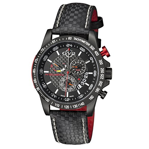 GV2-by-Gevril-Mens-9900-Scuderia-Analog-Display-Swiss-Quartz-Black-Watch