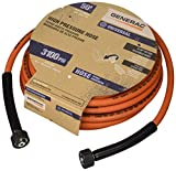 Generac 6620 Pressure Washer Hose, 50-Feet x 5/16-Inch, Orange