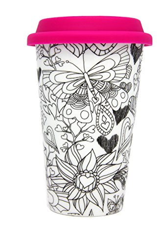 Travel Coffee Hearts Coloring Products product image
