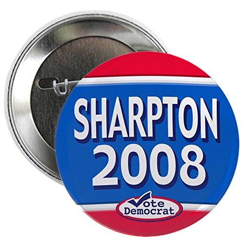 CafePress 2008 Al Sharpton Text Button 2.25