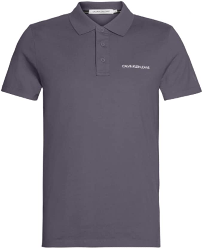 Calvin Klein J315344 - Polo para Hombre, Color Gris: Amazon.es ...