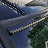 kia soul 2012 rain guards - TRUE LINE Automotive DIY Black Automotive Windshield Rain Gutter Guard Deflector Strip