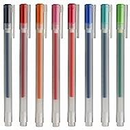 Muji Gel Ink Ballpoint Pens 0.38mm 8-colors Set
