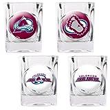 NHL Shot Glass 4 Piece Set Indv Logos