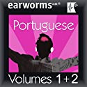 Rapid Portuguese (European): Volumes 1 & 2 Audiobook by earworms Learning Narrated by Marlon Lodge