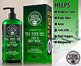 Antifungal Tea Tree Oil Body Wash Soap for Men