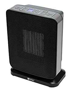 King Electric PH-7 7 1500 Watt 120 Volt Portable Ceramic Bathroom-Space Heater with Electronic Controls and Gfci Plug White