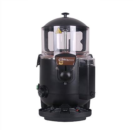 ITOPKITCHEN itopk Itchen dispensador de Chocolate Caliente Negro 5L eléctrica 1000 W Certificado CE Bain Marie