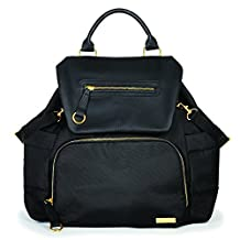 Skip Hop Chelsea Downtown Chic Diapers Backpack, Black