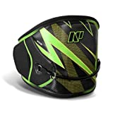 NP Surf Flash Easy Release Kite Waist Harness, Black/Green, Large