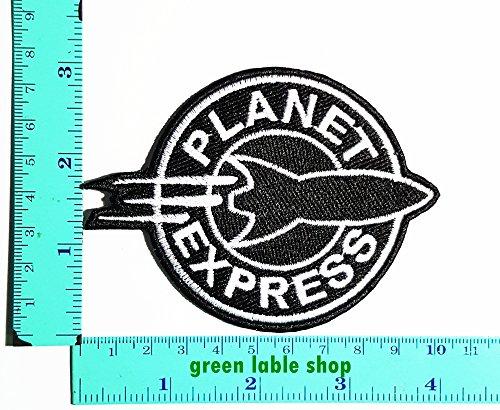 [Futurama Planet Express Patch Logo Sew Iron on Embroidered Appliques Badge Sign Costume Send Free] (Futurama Leela Costumes)