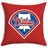 Sports Coverage 03JSSDL3PHI1818 MLB Philadelphia Phillies Sidelines Toss Pillow,