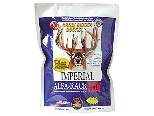 Whitetail Institute Imperial Alfa-Rack Plus Perennial Food Plot Seed 16.5 - Whitetail Rack