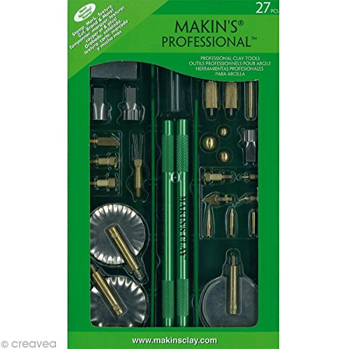 Makin's Professional Clay Tool Set (27 Pieces)