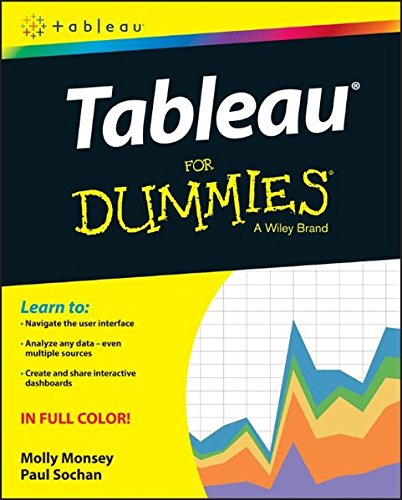 Tableau For Dummies  For Dummies  Computer Tech