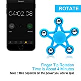 Cosy Zone Newest Fidget Hand Spinner EDC Tri-Spinner Toys Perfect for Relieving ADHD Stress Nervous Anxiety Boredom for Kids Adults (Blue)
